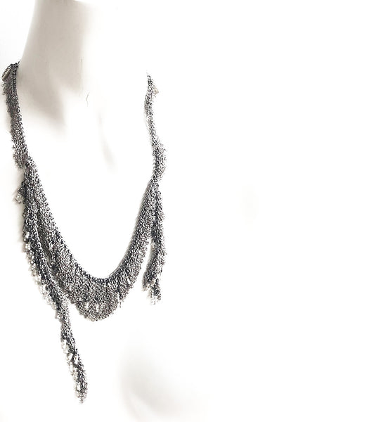 Flapper Fringe Necklace