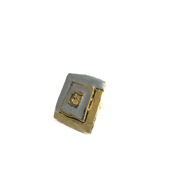 Square Statement Ring