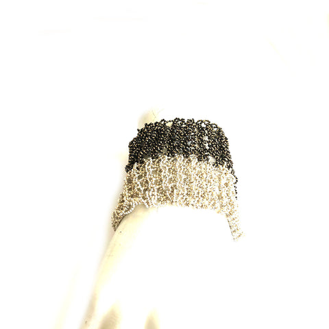 Dual Color Knitted Bracelet