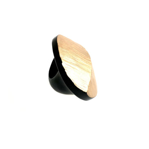 Monies Gold Ebony Ring
