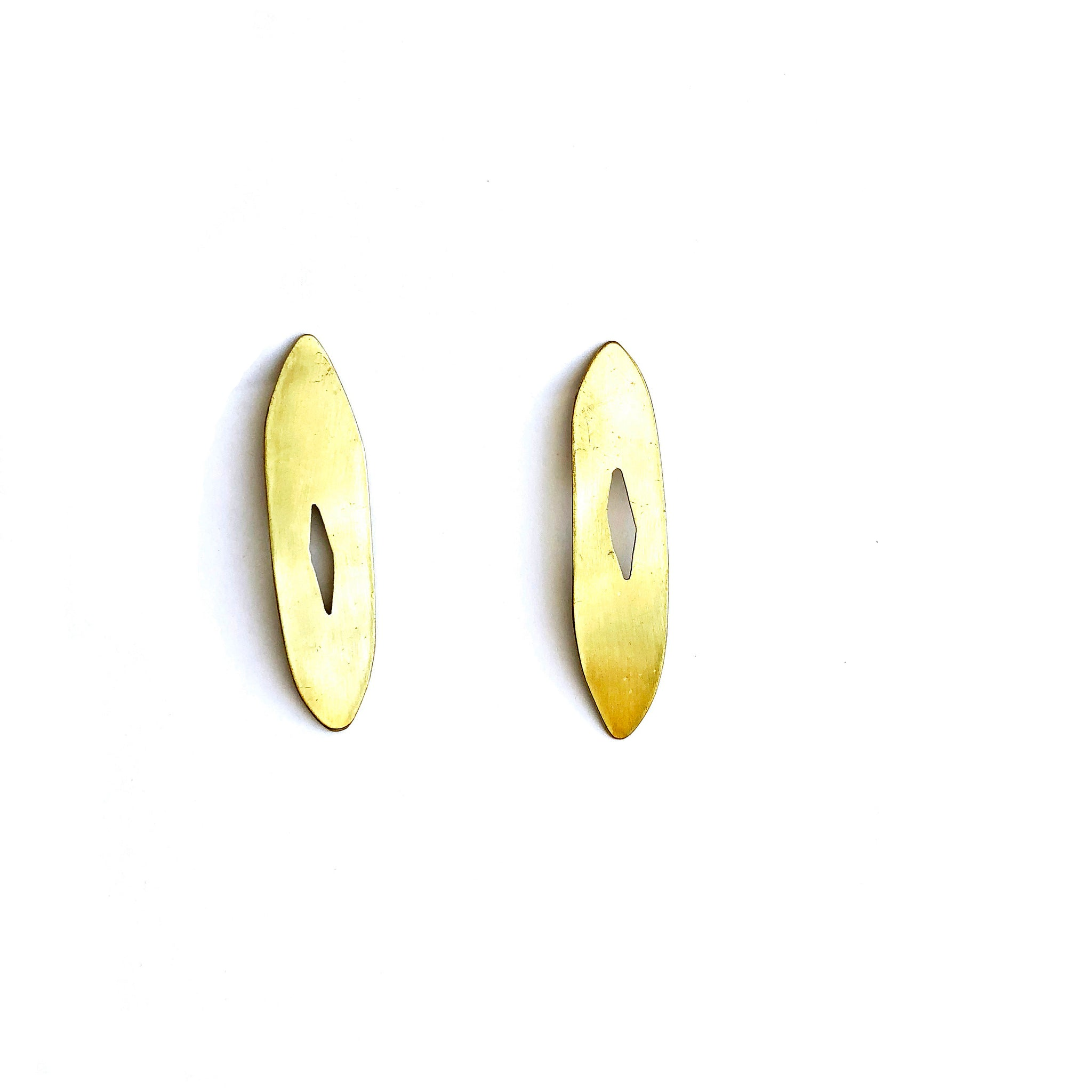 Gold Cut Out Studs