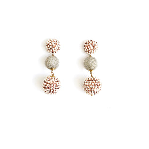Seed Pearl Drop Earrings