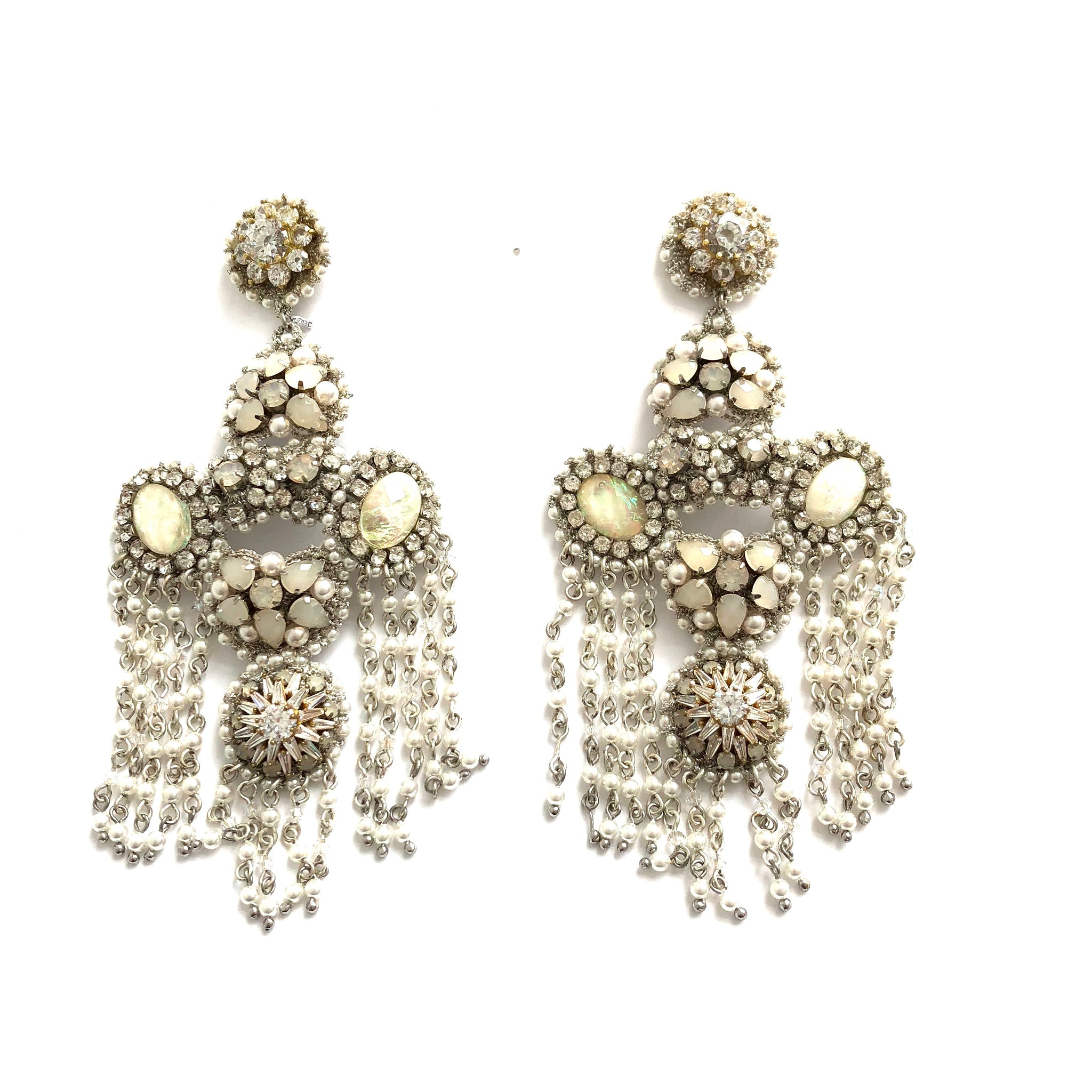 One of a Kind Chandelier Earrings