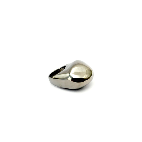 Rhodium Ring