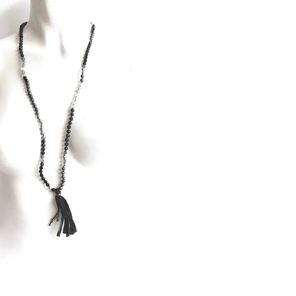 Onyx Hematite Necklace