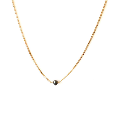 Black Diamond 10K Gold