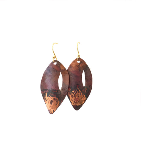 Almond Shaped Earrings
