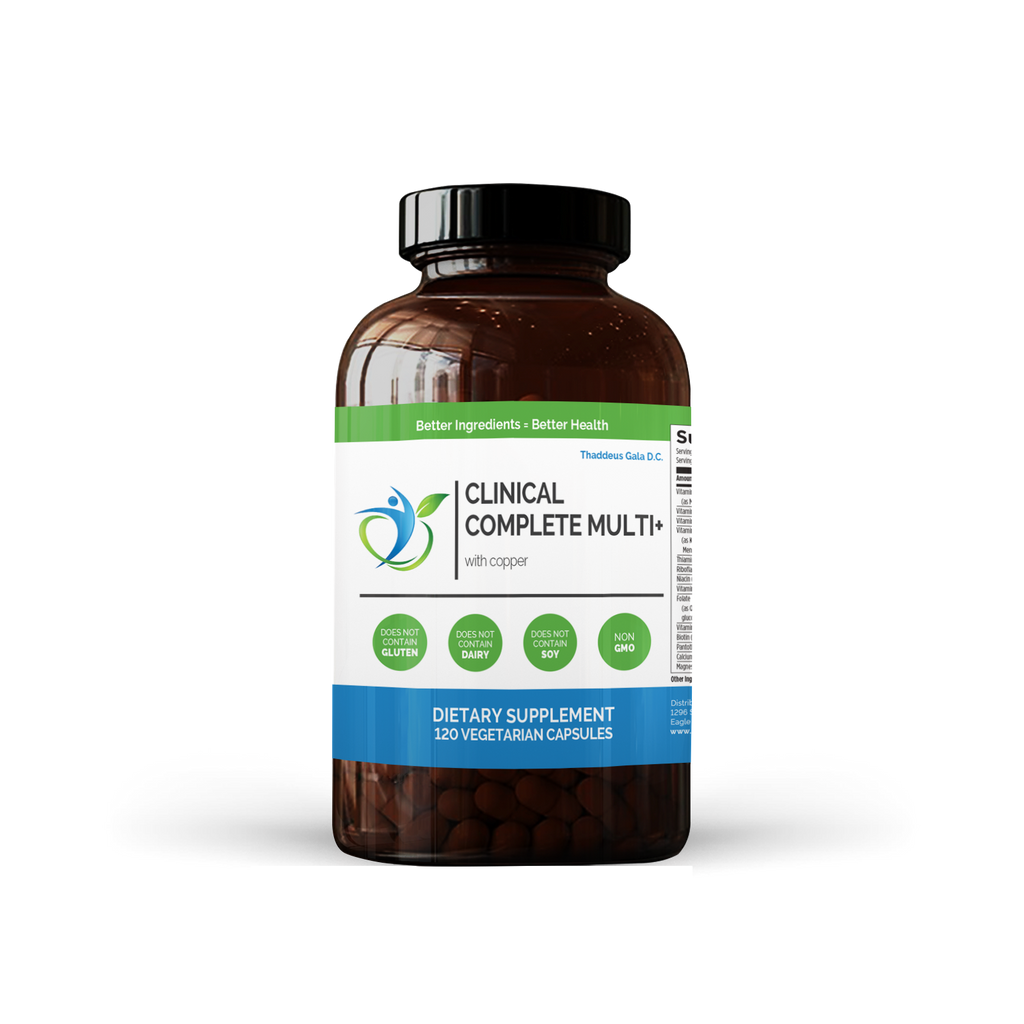 Clinical Complete Multivitamin+