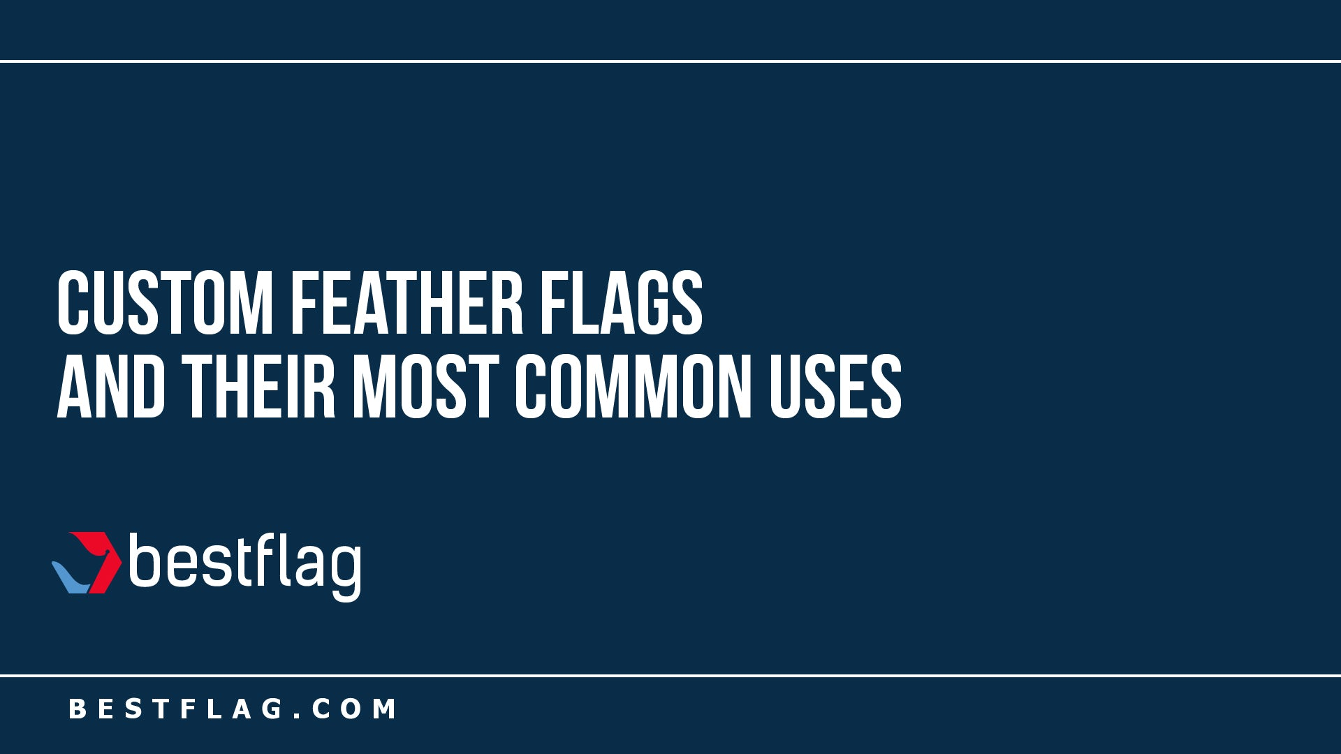 Custom Feather Flags and their Most Common Uses