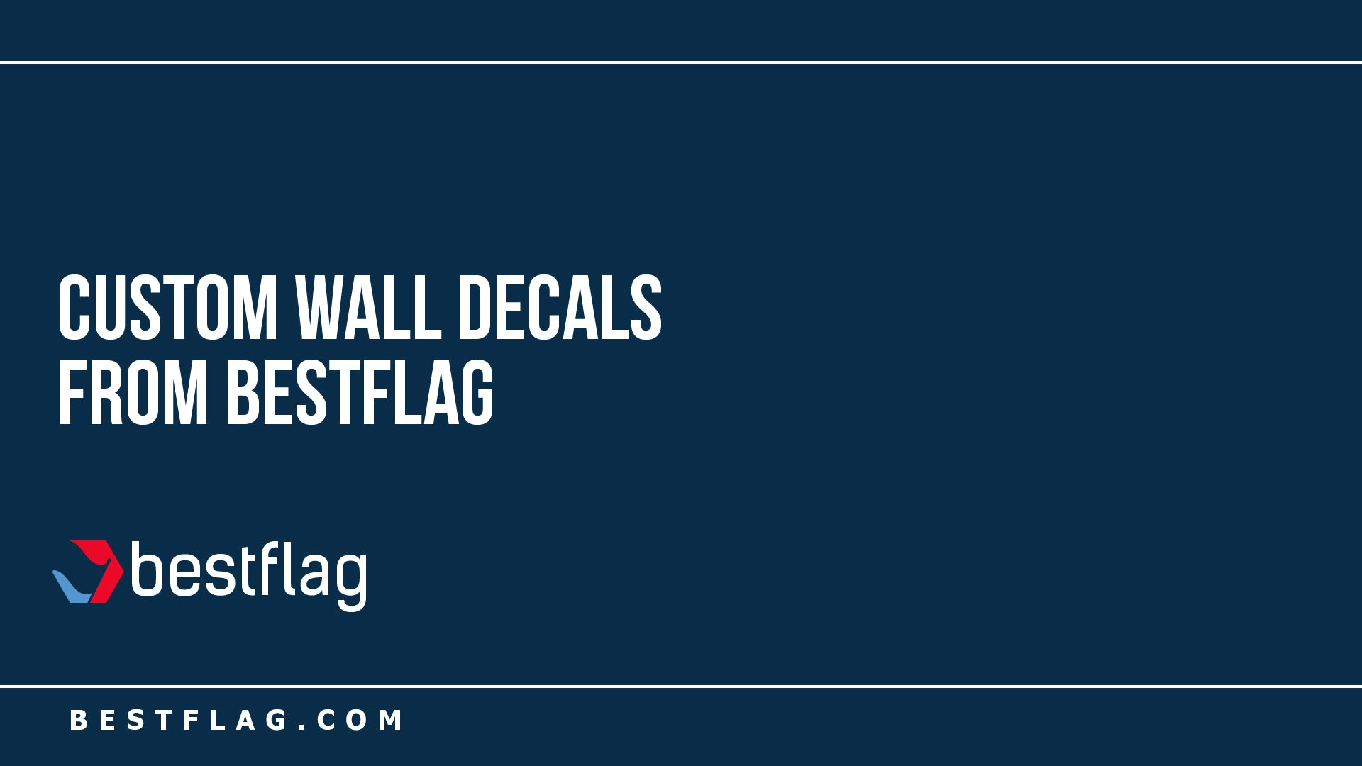 Custom Wall Decals from BestFlag