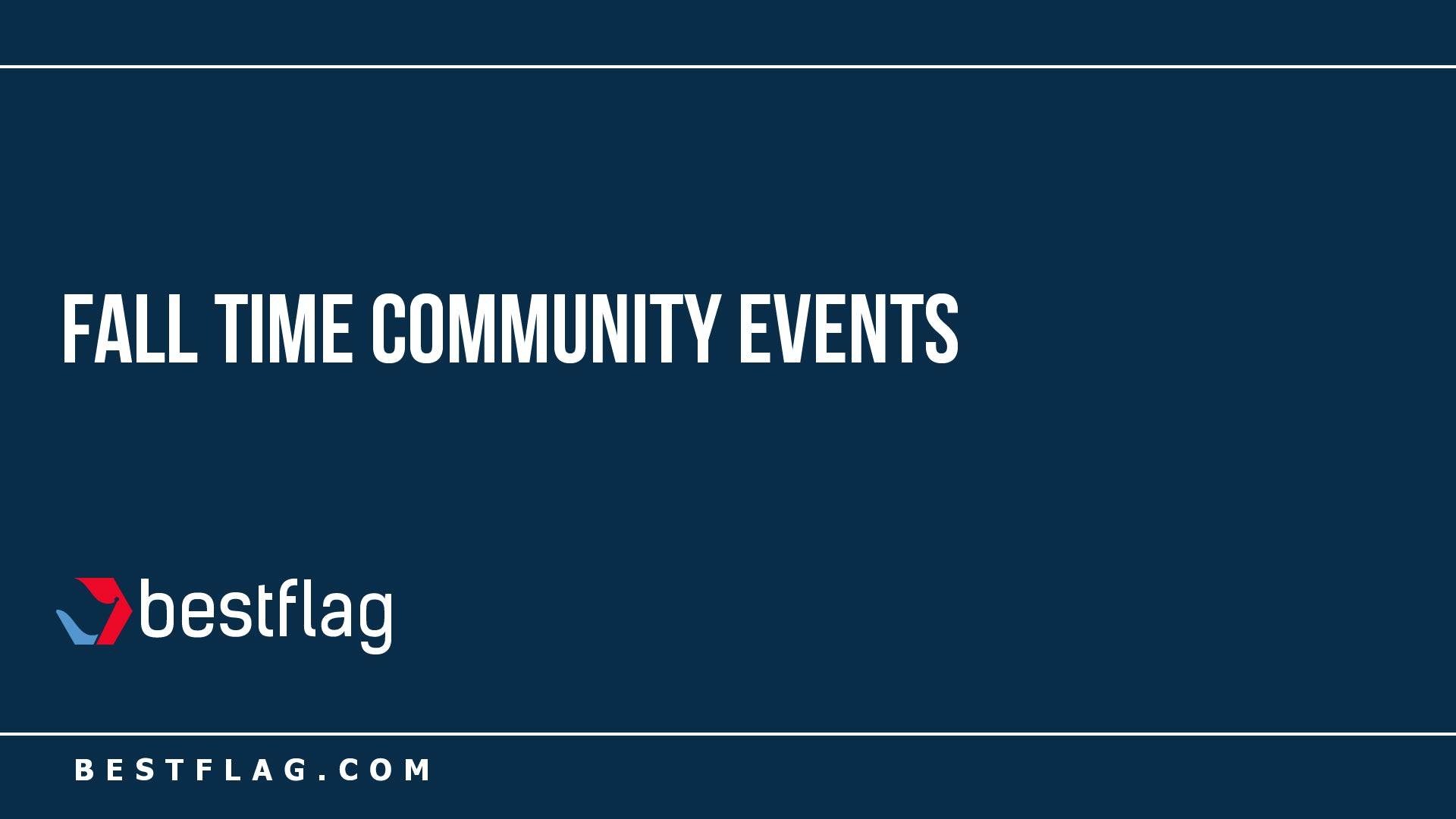 Fall Time Community Events