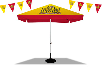 Hungry Howie's Outdoor Displays