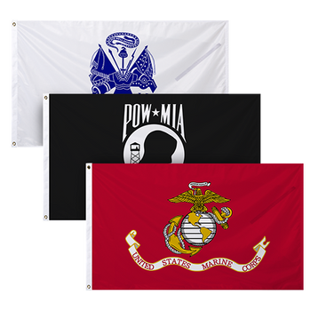 US Military Flags