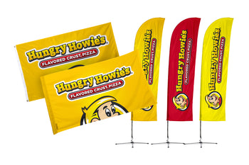 Hungry Howie's Flags