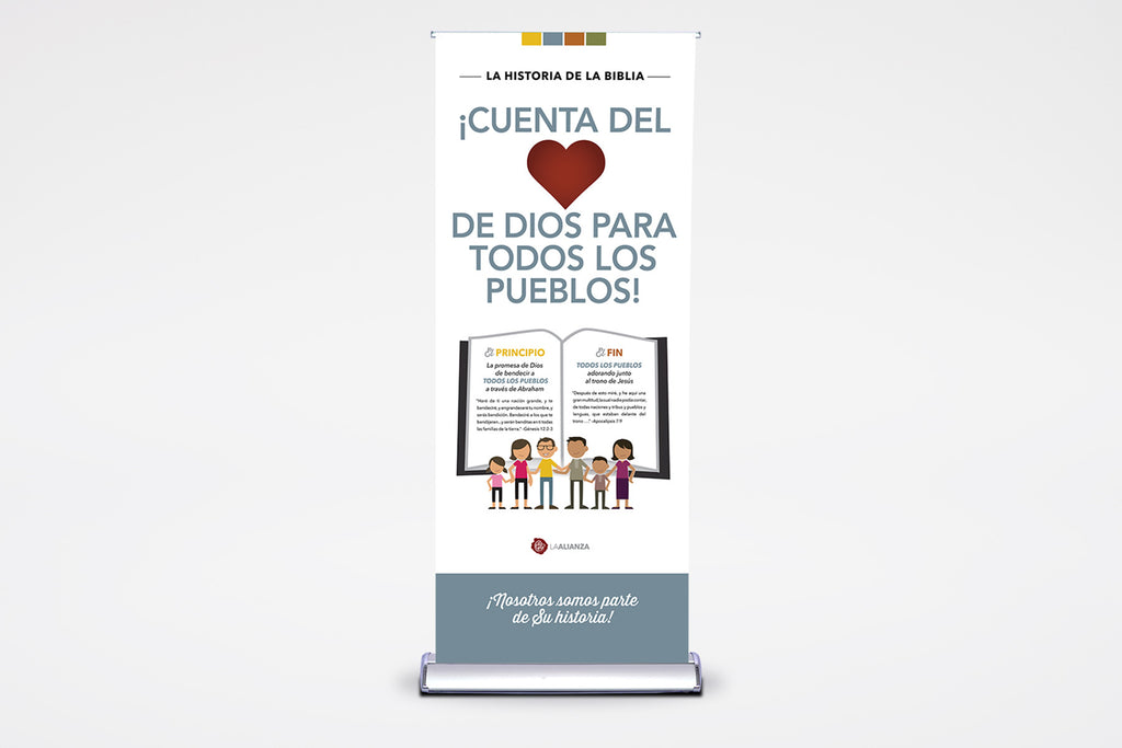 To All Peoples | English & Spanish | Premier Retractable