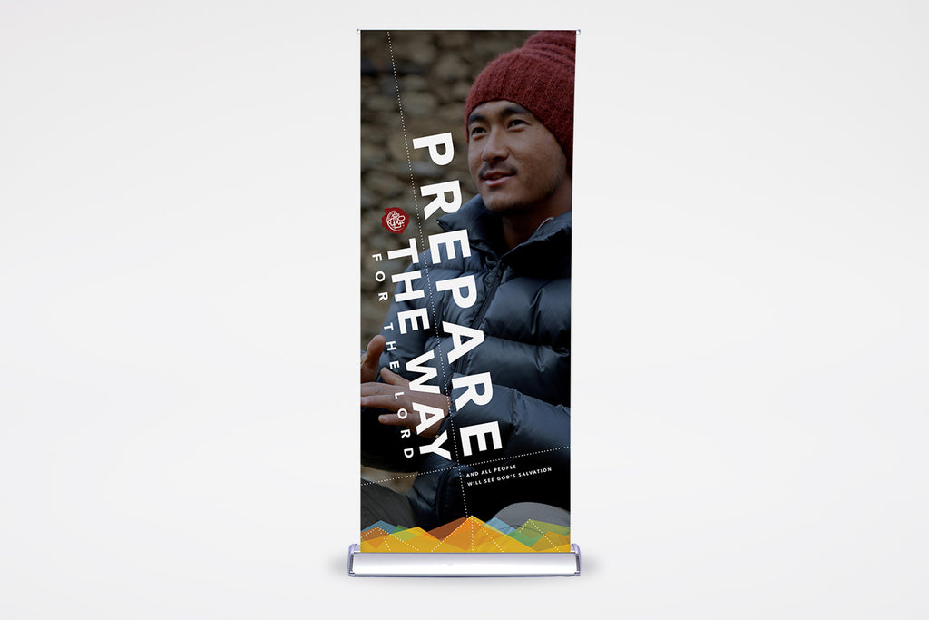 Prepare the Way | English & Spanish | Premier Retractable