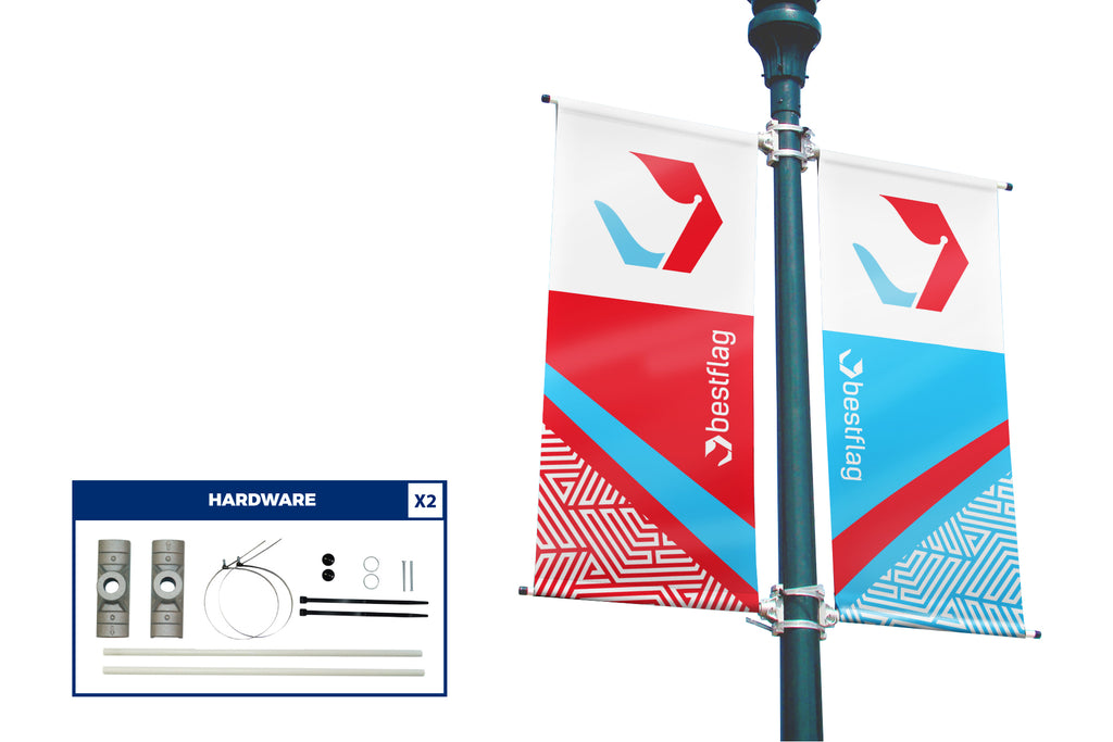 Custom Vinyl Avenue Banner (Both Sides Kit) - BestFlag.com