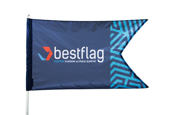 Custom Guidon Flag with Pole Sleeve - BestFlag.com