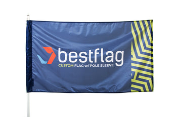 Custom Flag with Pole Sleeve - BestFlag.com