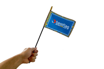 Custom Stick Flags - BestFlag.com