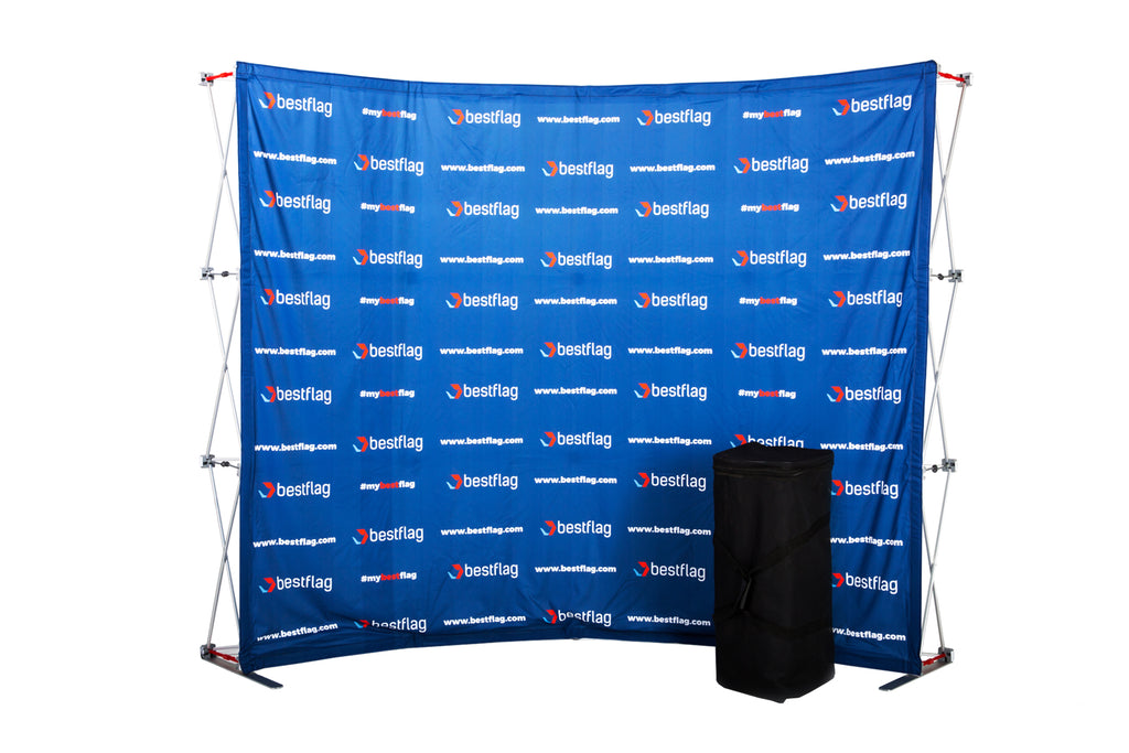 Curved Pop-Up Display - BestFlag.com