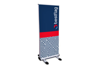 Custom Trek Retractor Outdoor Stand - BestFlag.com