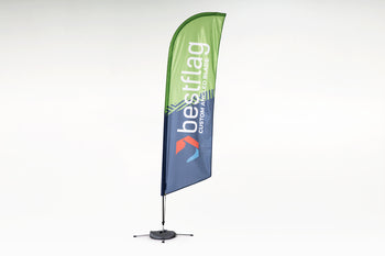 Blade Flag (Angled Bottom) - BestFlag.com
