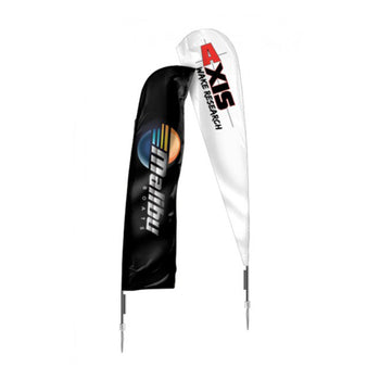 Malibu / Axis Premium Feather Flag