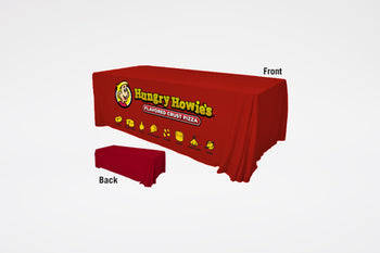 Hungry Howie's | Red Table Drape with Logo