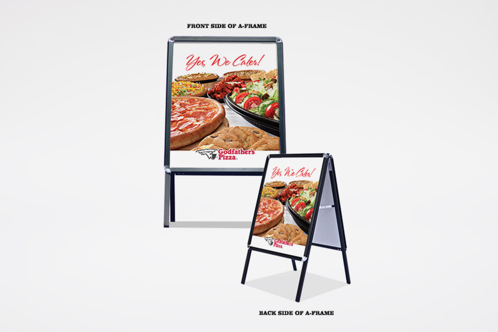 "Godfather's Pizza | ""Yes, We Cater!"" Kit"