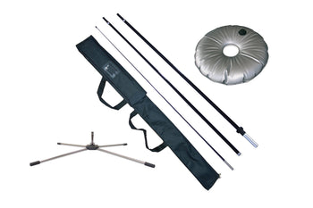 Premium Feather Flag Pole Kit