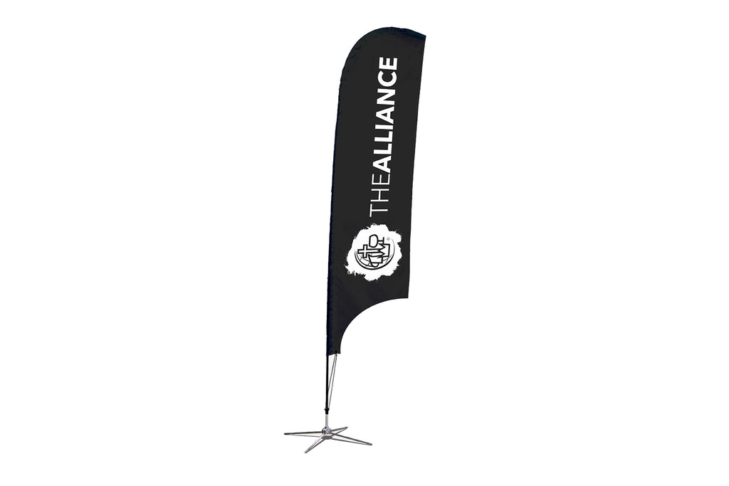 CMA Logo Blade Flag and Pole Kit - BestFlag.com