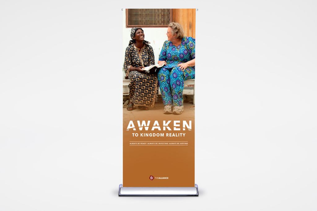 Awaken to Kingdom Reality | Premier Retractable - BestFlag.com