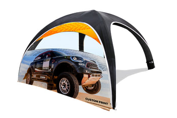 The Dome Inflatable Tent Window Wall - BestFlag.com