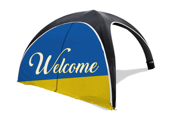The Dome Inflatable Tent Door Wall - BestFlag.com