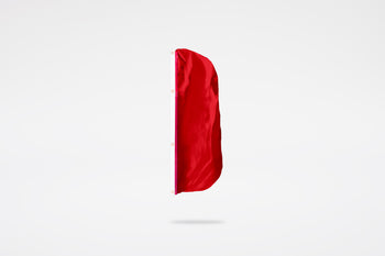 Solid Color Vertical Flag (Canvas Header & Grommets)