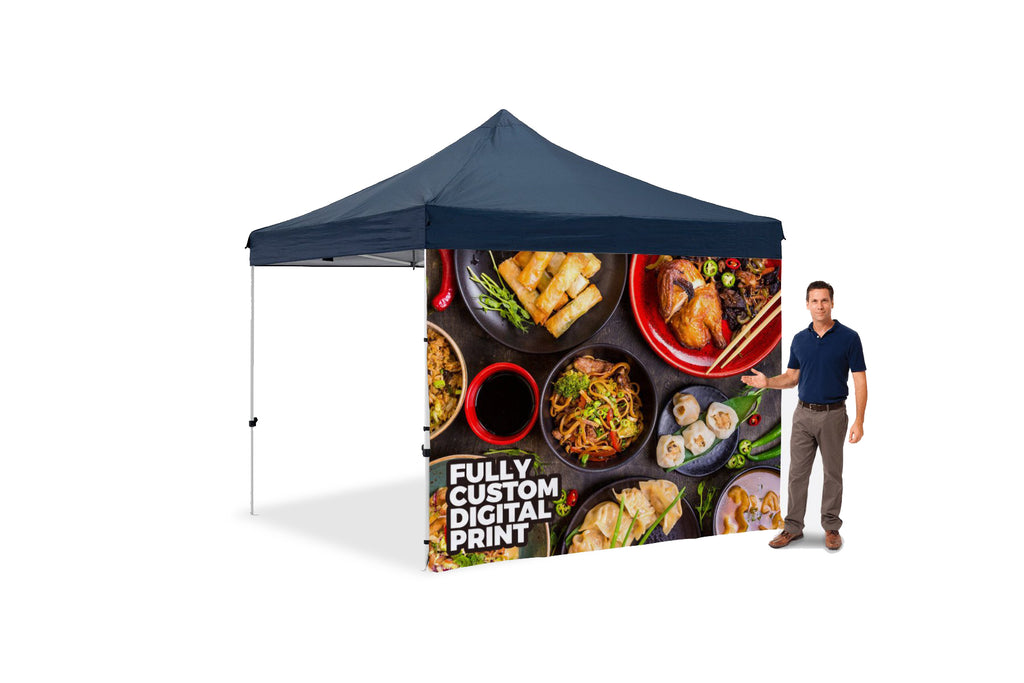 The Premier Tent Custom Full Wall - BestFlag.com