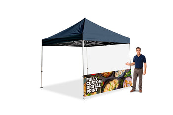 The Premier Tent Custom Half Wall - BestFlag.com