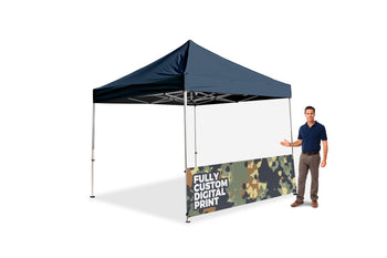 The Tank Tent Custom Half Wall - BestFlag.com