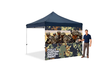 The Tank Tent Custom Full Wall - BestFlag.com