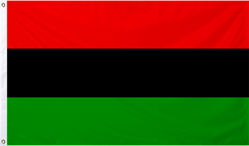 Afro American International Flag