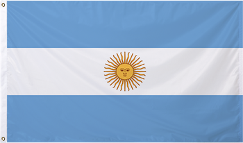 Argentina International Flag