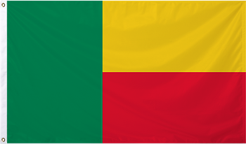 Benin International Flag