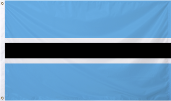 Botswana International Flag