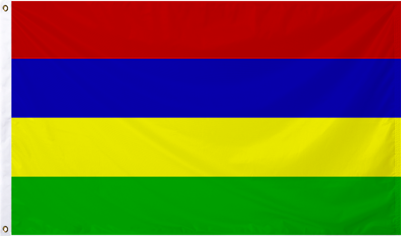 Mauritius International Flag