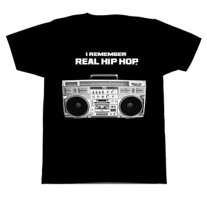 I Remember Real Hip Hop T-Shirt