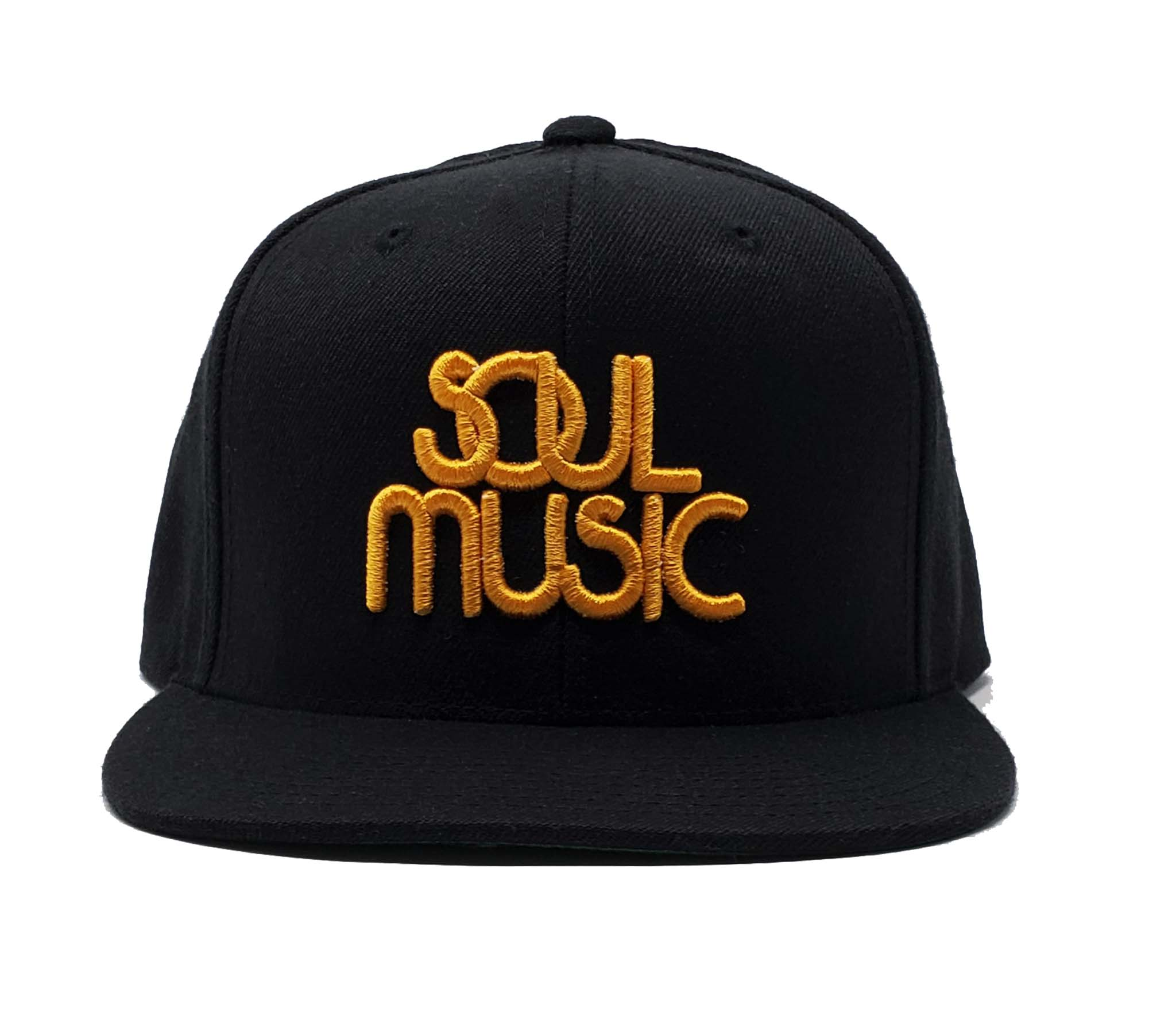 Soul Music Black and Gold Snapback