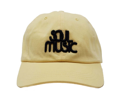 Soul Music Yellow and Black Dad Cap