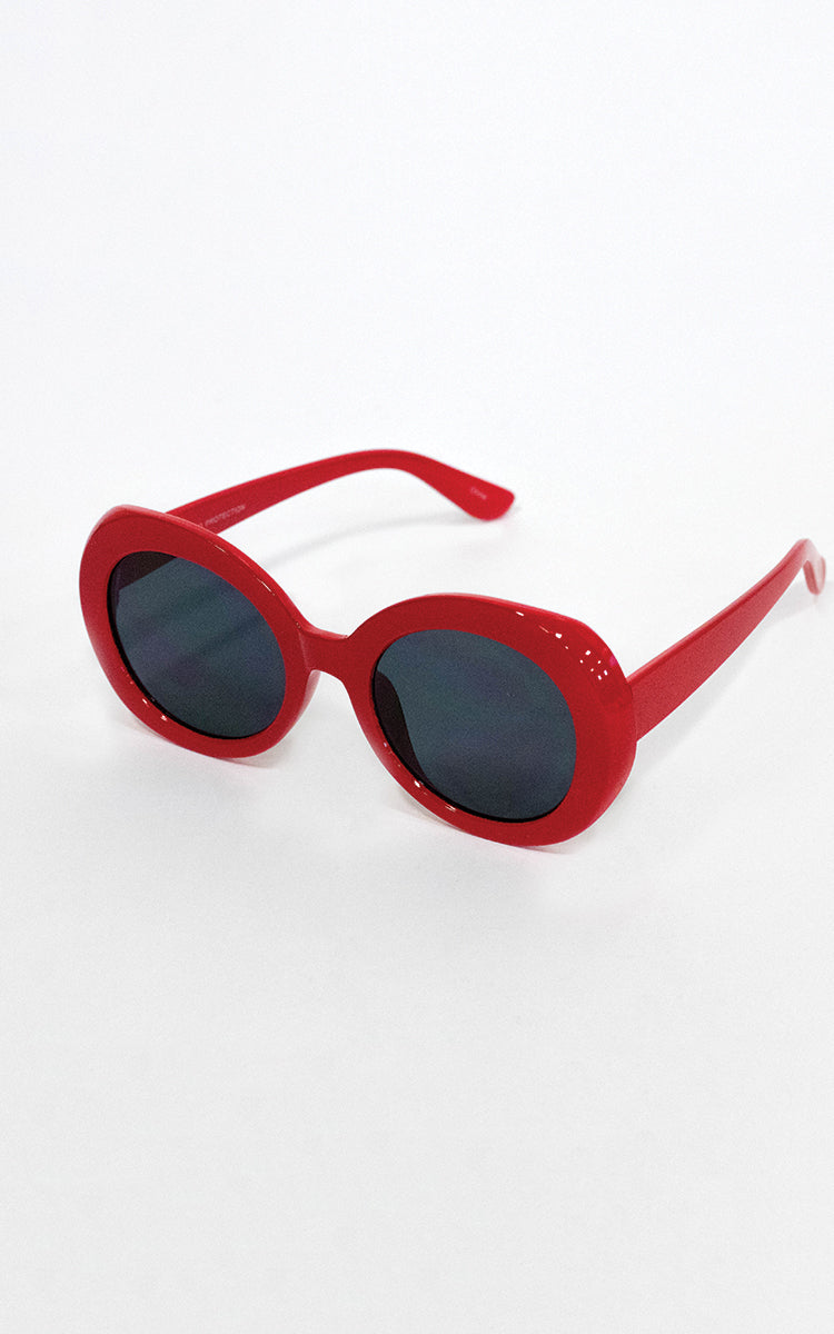 Red Audrey Sunglasses