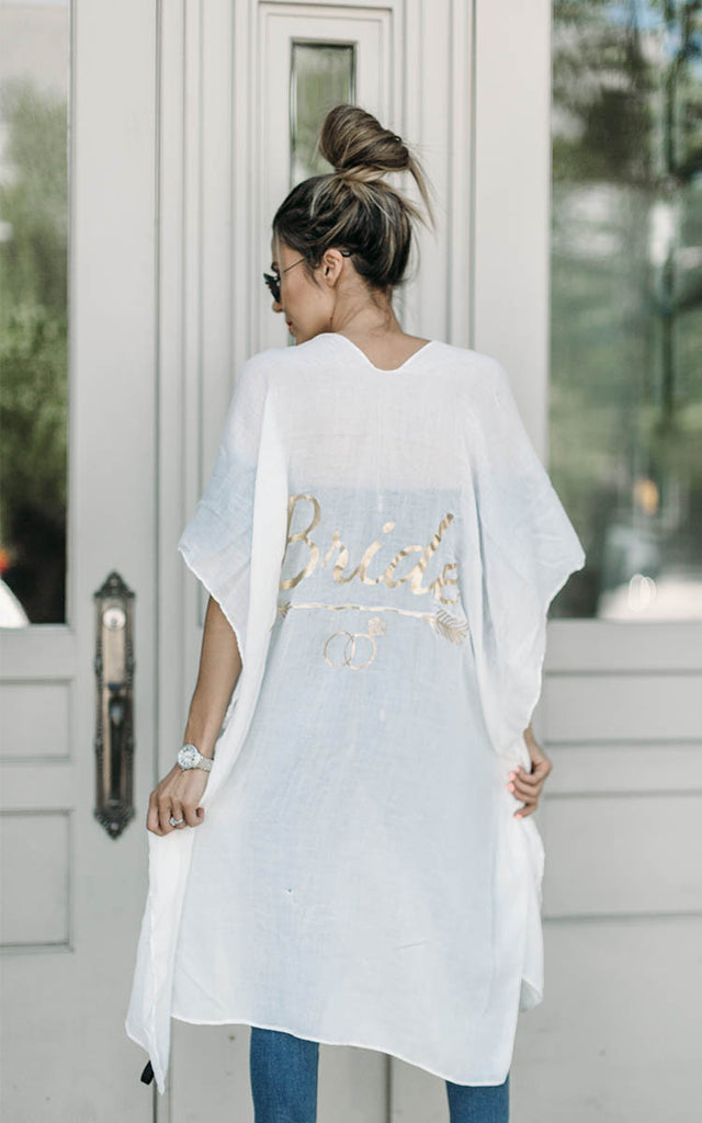 Bride Swim Cover Up